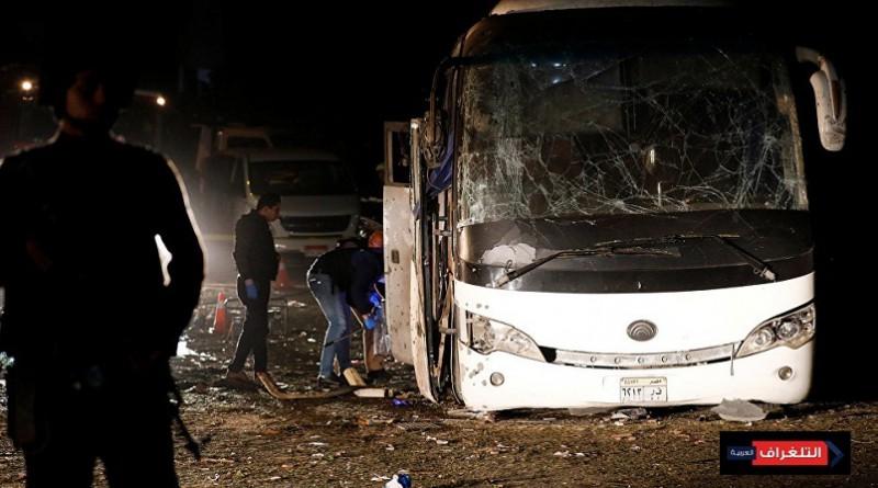 انفجار يستهدف حافلة سياحية بالجيزة ويقتل سائحين فيتناميين