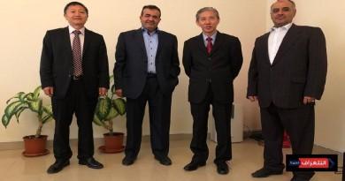 النعماني وشمسان يلتقون السفير الصيني لدى اليمن