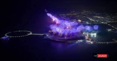 رأس الخيمة تستقطب أنظار العالم في عرضها المذهل للألعاب النارية ليلة رأس السنة 2019