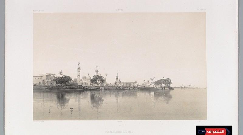 مدينة فوه على النيل_1843
