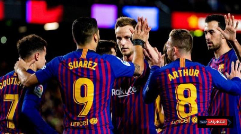 ملخص مباراة برشلونة وايبار
