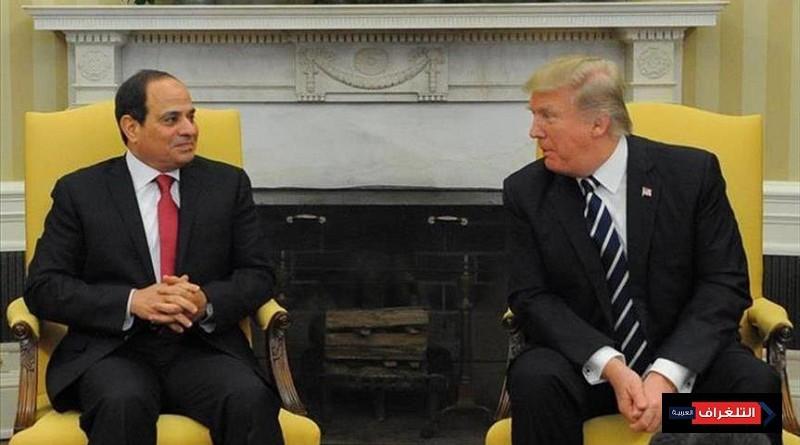 السيسي وترامب يبحثان هاتفيًا تطورات ليبيا وسوريا واليمن