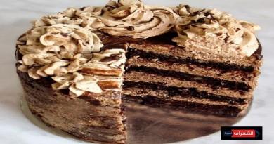 CHOCOLATE WALNUT COFFEE CAKE