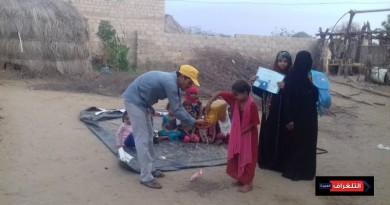 مؤسسة بنات الحديدة تنفذ مشروع معالجة سوء التغذية والتوعية بالكوليرا في اليمن