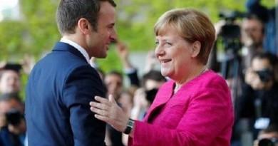 ميركل: نريد المشاركة مع فرنسا في تشكيل جيش أوروبي موحد