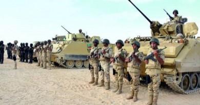المتحدث العسكري: مقتل 7 تكفيريين في إحباط هجوم إرهابي بشمال سيناء
