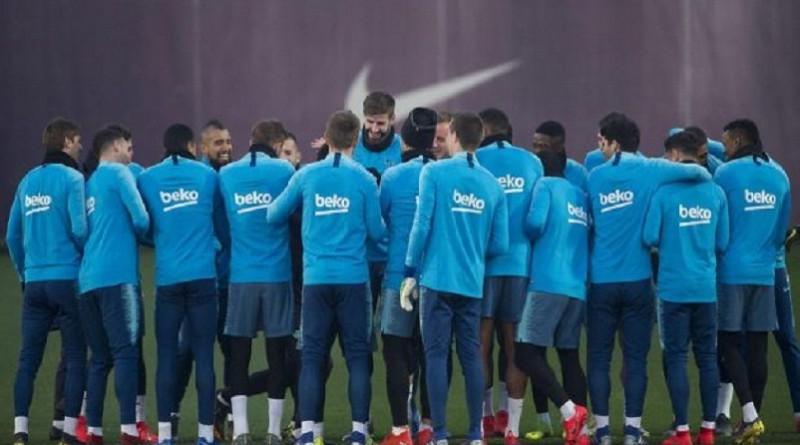 برشلونة يبدأ التحضيرات لكلاسيكو الليغا