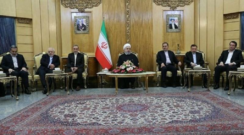روحاني: الولايات المتحدة والصهاينة هم أساس الإرهاب في المنطقة