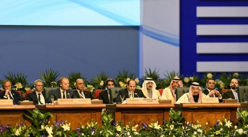 النزاعات الاقليمية والتحديات المشتركة في قمة الاتحاد الأوروبي والجامعة العربية