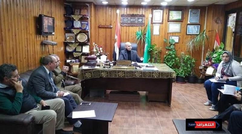 مسعود يستعد لحملة ١٠٠ مليون صحه بتكثيف الإجتماعات بالشرقية
