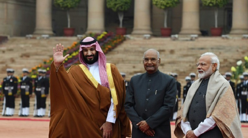 ولي العهد السعودي يتفق مع الهند على تعزيز الضغط لمكافحة الإرهاب