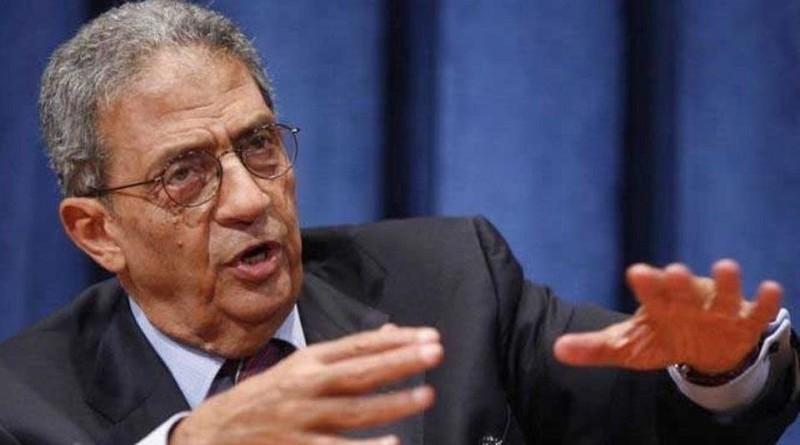 """عمرو موسى يدعو لحوار وطني لمناقشة """"التعديلات الدستورية"""""""