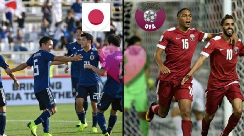 قطر واليابان كأس آسيا 2019