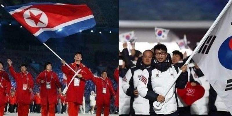 """كوريا الجنوبية والشمالية تبحثان المشاركة بفرق موحدة في """"طوكيو 2020"""""""