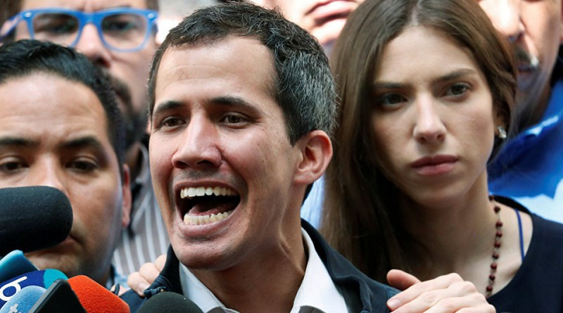 Bolton Says Venezuela UN Military Attache Recognized Guaido as Interim President