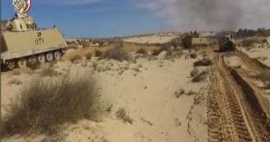 المتحدث العسكري: استهداف 7 بؤر إرهابية بشمال سيناء ومقتل 8 عناصر إرهابية