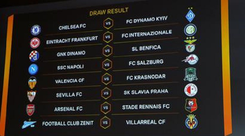 قرعة الدوري الأوروبي...آرسنال أمام رين.. ونابولي ضد سالزبورج
