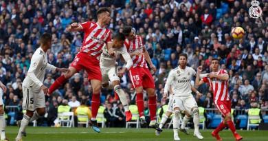 ريال مدريد يتلقى خسارة مفاجئة أمام جيرونا