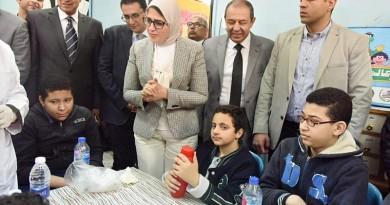 وزيرة الصحة: المبادرات الصحية التي تنفذها الوزارة تهدف لبناء الإنسان المصري