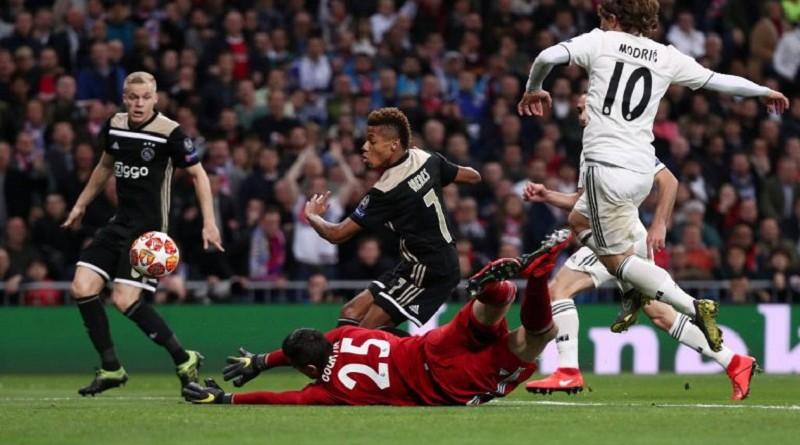 أهداف ريال مدريد وأياكس أمستردام