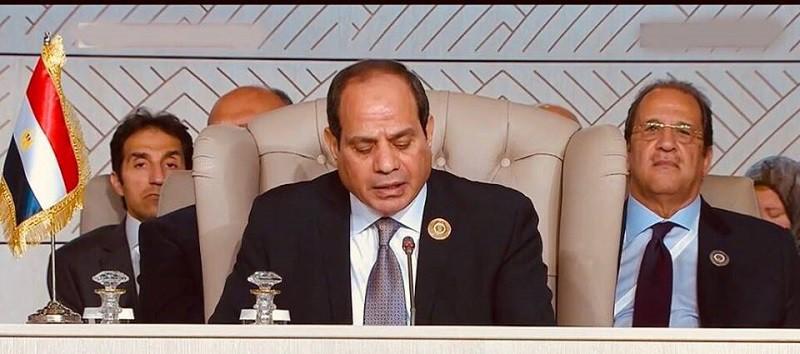 ننشر نص كلمة السيسي في القمة العربية