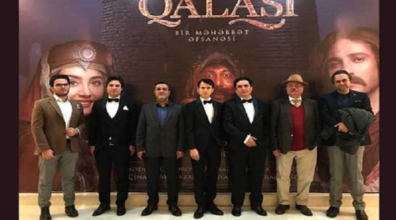 إزاحة الستار عن فيلم «حصن الحب» الإنتاج المشترك لإيران وجمهورية أذربيجان في باكو