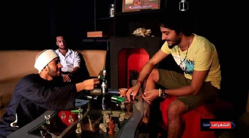 مجموعة من الموهوبين فى فيلم (عمرو. أديب)