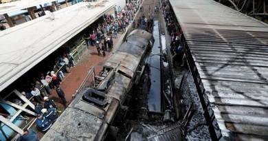 حبس متهم سابع في حادث قطار.. والطب الشرعي: معظم ضحايا توفوا نتيجة للحرق