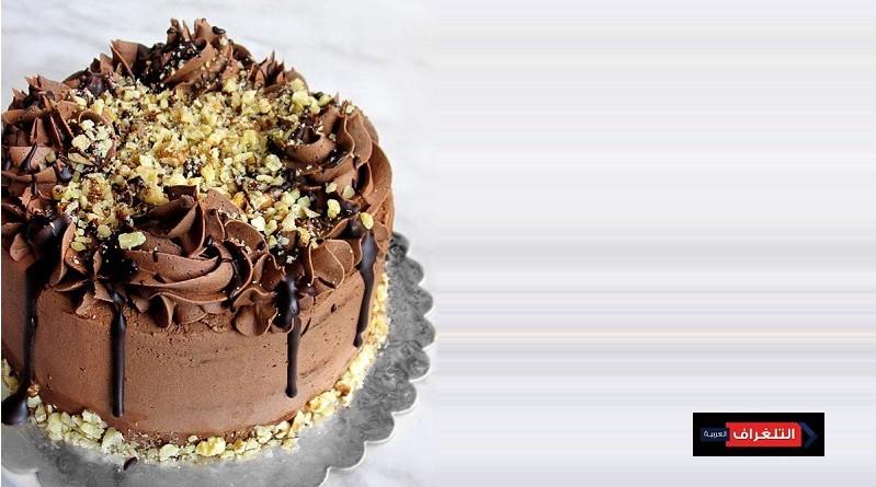 WALNUT CHOCOLATE TRUFFLE CAKE