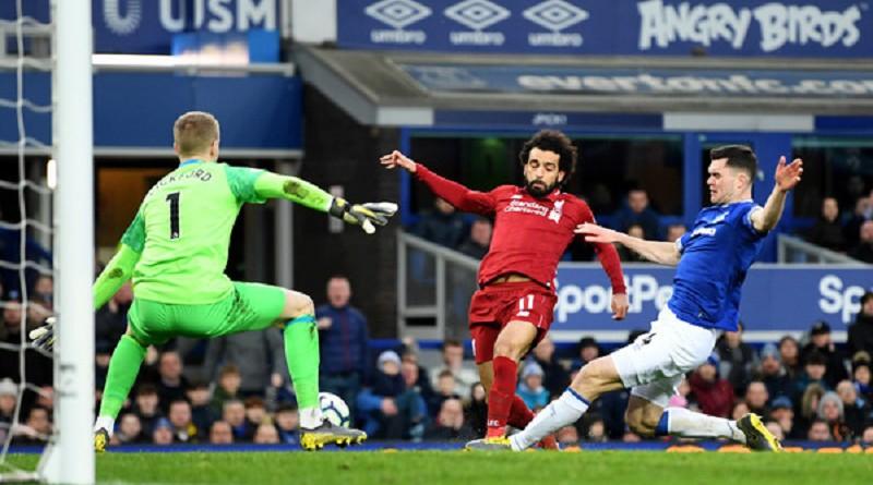 محمد صلاح يهدر انفرادان في تعادل ليفربول أمام إيفرتون