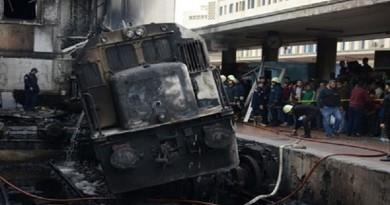 """تجديد حبس المتهمين في حادث قطار """"محطة مصر"""""""