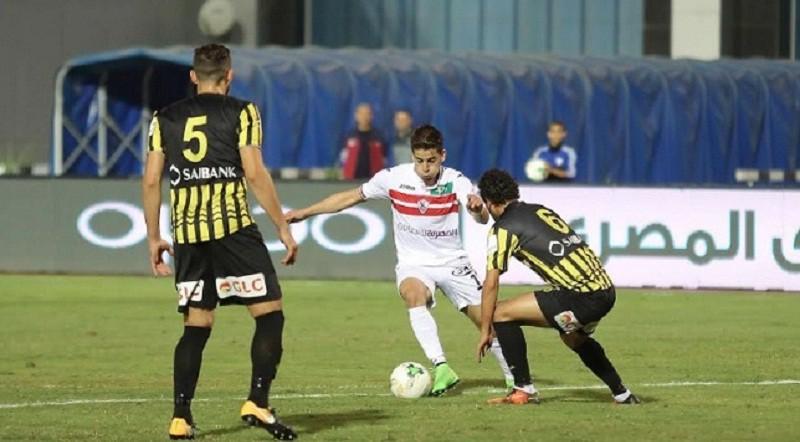 المقاولون العرب والزمالك الدوري المصري
