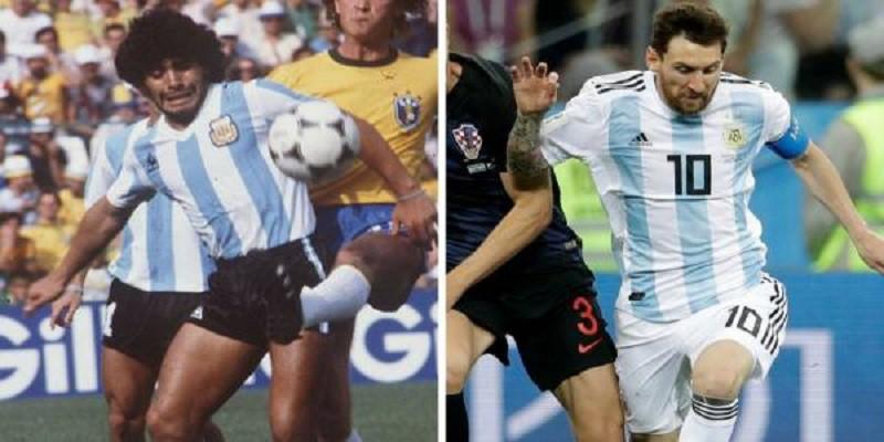 """ميسي أم مارادونا.. أساطير الكرة يحددون """"الأفضل"""".. ولماذا؟"""