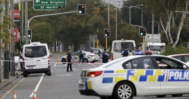 الشرطة الأسترالية تنفذ عمليات تفتيش تتعلق بحادث نيوزيلندا