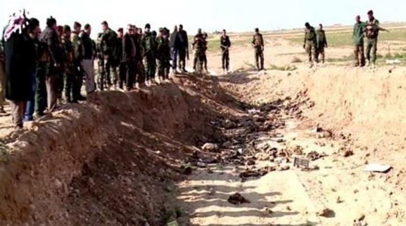 جرائم داعش.. الانتهاء من استخراج رفات من أولى المقابر الجماعية في سنجار