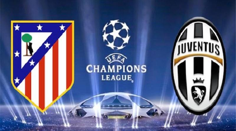 يوفنتوس واتليتكو مدريد دوري أبطال أوروبا
