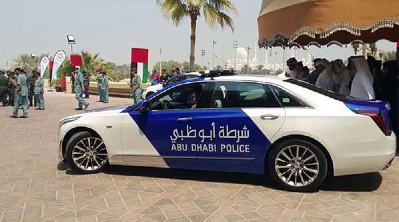 شرطة أبوظبي تعلن عن سيارة جديدة بتقنيات متطورة (فيديو)