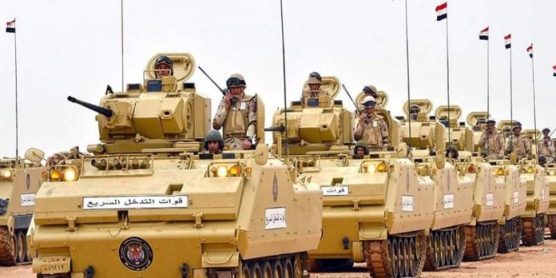 القوات المسلحة: القضاء على 46 إرهابيًا شديدة الخطورة