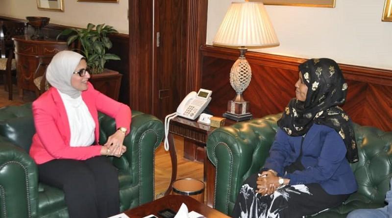 وزيرة الصحة توقع بروتوكول تعاون مع نظيرتها الصومالية لدعم المنظومة الصحية