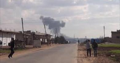 مصرع 5 مدنيين من عائلة واحدة إثر انفجار لغم بريف حلب