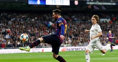 كلاسيكو الدوري..ريال مدريد يسعى تعويض إقصائه أمام برشلونة في الكأس
