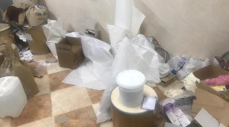 """""""الصحة"""": ضبط مصنع غير مرخص في مدينة بدر يصنع أدوية من """"خامات مجهولة"""""""