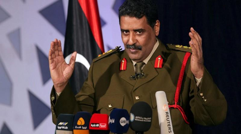 """الجيش الليبي ينفى وجود """"300 مرتزق"""" روسي في بنغازي"""