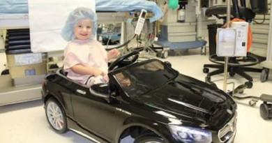اتباع طريقة حديثة للتخفيف عن الأطفال المقبلين على عملية جراحية