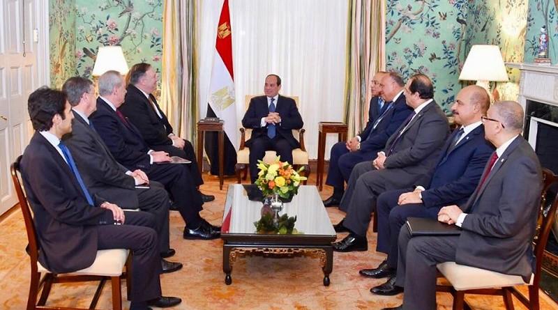 السيسي يؤكد: حرص مصر على تدعيم وتعميق الشراكة الاستراتيجية الممتدة مع الولايات المتحدة