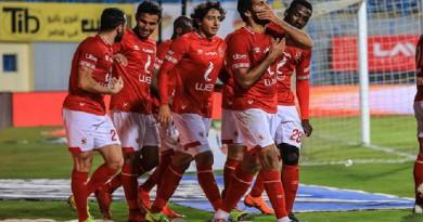التشكيل المتوقع لمباراة الأهلي أمام مصر للمقاصة اليوم