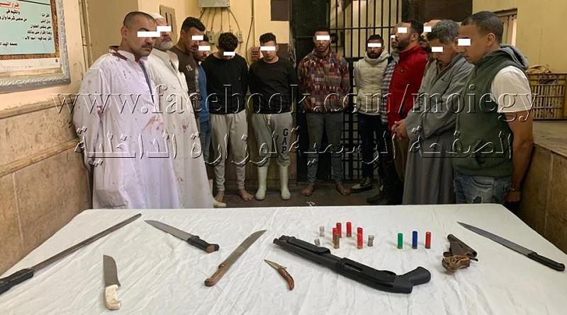 أمن القاهرة ينجح في السيطرة على مشاجرة بالأسلحة النارية والبيضاء داخل المجزر الآلي