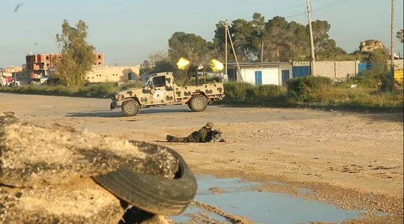 دبلوماسيون: واشنطن وموسكو تقولان إنه لا يمكنهما تأييد دعوة لهدنة في ليبيا