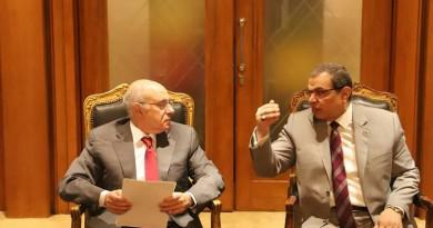 """""""سعفان"""" و""""أبو سليمان"""" يبحثان آليات حل مشكلات العمالة المصرية واللبنانية بالبلدين"""