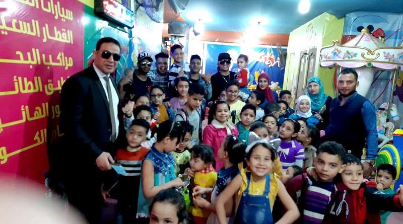 """""""الحرية المصري"""" ينظم احتفالية بمناسبة يوم اليتيم في الجيزة"""